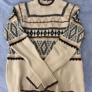 American eagle sweater mock neck